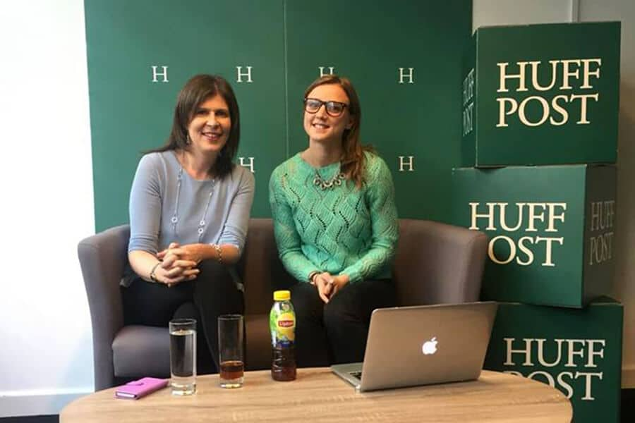 Maryanne from The Sleep Works at The Huffington Post for a live Facebook Q&A