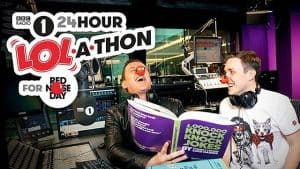 Radio 1 gets advice from The Sleep Works on how to stay AWAKE for Comic Relief