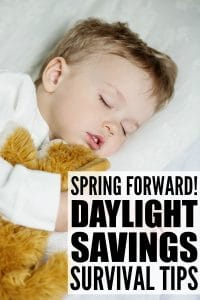 Spring Forward With Your Child's Sleep on Sunday, March 26