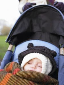 The Sleep Works Chats with The Huffington Post – Do Babies Nap Better Outside?